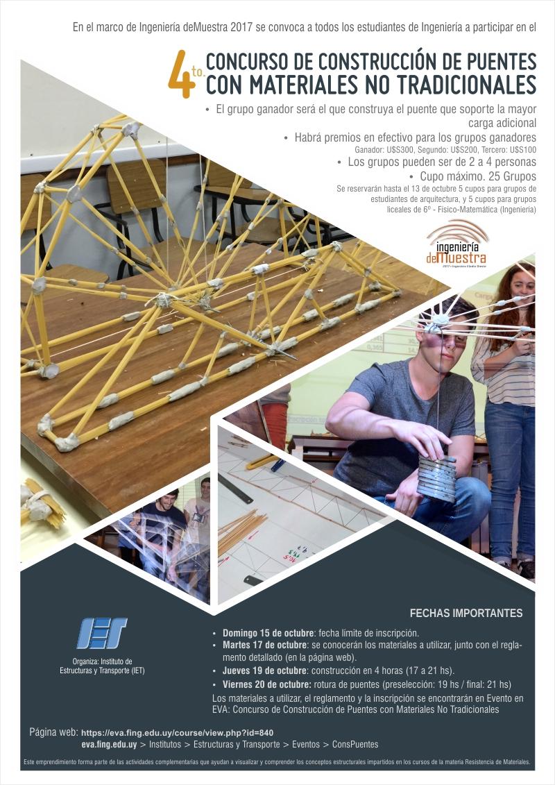 Curso: Concurso de Construcción de Puentes con Materiales No ...